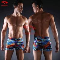 Free Shipping Swimwear Men Swimming Trunks Sexy Letter Man Swimsuit Underwear Masculinas Moda praia Swimwear Briefs
