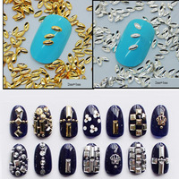1000pcs/lot 2*4 mm 3d Punk Style Studs Rivet Rhinestones for 3D Nail Art Tips Decorations DIY Nail Supplies #ND39