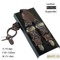BD4T510 High quality Plaid elastic party strap Men,casual suspender,leather wedding braces,4 clips 8 colors ,110/120cm length