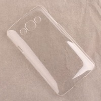 100% Transparent Clear Hard Phone Cases for LG L60 Crystal Back Shell Covers For LG X145 Plastic Case Accessorie