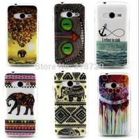 New For Samsung Galaxy Ace 4 NXT G313 G313H TPU soft case Fashion Cartoon owl High quality design Phone Cases cover skin D1465-A