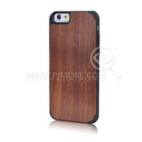 Ultra Thin Bamboo Wooden Style 5 Kinds PC+Nature Wood Case For IPHONE 6 6G Free Singpost Shipping