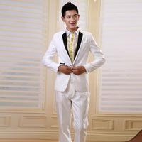 White dress wedding dresses wedding dresses high-grade groom suit groom outfit