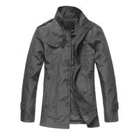 2015 New fashion men jackets casual coat slim fit overcoat outwear Size M L XL XXL A2030
