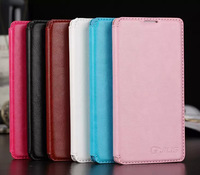 Wholesale 10Piece For Xiaomi mi4 Leather Case Flip Leather Cover For Xiaomi mi 4 Stand Case Business Style Leather For mi4
