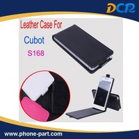 Free Shipping Open Up and Down Case for Cubot S168,Cubot S168 leather case,3colors in stock