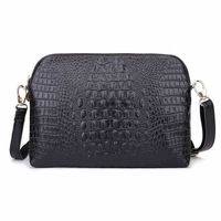 New 2015 European And American Fashion Genuine leather Shoulder Bags crocodile Pattern Women Messenger Bags/Handbags