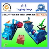 Small vacuum clay brick making machine,small hollow brick making machine