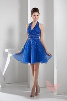 The lovely day Blue Prom dress.