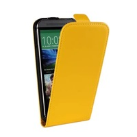 HOT New elegant Vertical Cover luxury Noble Flip Leather Case For HTC ONE M8 Up and Down