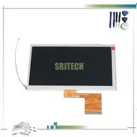 "7"" TFT LCD Display Q88 Q7 Q8 K8GT N12R N6 T6 K1 K2 LCD Display Sreen for Allwinner A13 773TG700F220021 +Tools Free Shipping"