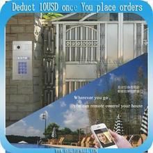 DIY Wifi IP Video door phone, remote door access by your iphone | andriod smartphone | wireless video door phone