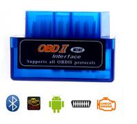 Latest Version Super Mini ELM 327 Bluetooth OBD II V2.1 Car Scanner obdii Diagnostic Tool works on Android Windows Symbian