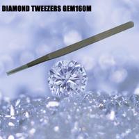 Jewelry  Tweezers Stainless steel Diamond tweezers GEM160M Free shipping