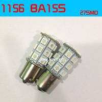2X white/yellow 1156 382 BA15S p21w  led light bulb 27SMD Tail Turn Signal reversing lamp Light led parking accessories
