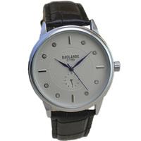 fashion black band belt top luxury watch man 2015 new classic design japan quartz watches men wristwatch white crystal dial hour
