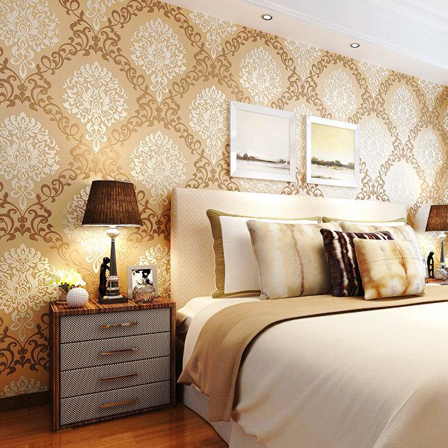 Online kopen wholesale beige zandsteen uit china beige zandsteen groothandel - Moderne slaapkamer behang ...