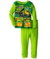Retail Teenage Mutant Ninja Turtles boys children cartoon long sleeve clothing sets Pajama Sets kid's clothing suits sct011