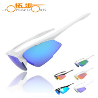 TOPEAK SPORTS REVO Polarized  Sun Glasses Outdoor Sport Bicycle Bike Sunglasses TR90 UV PROTECTION Goggles Eyewear 4 Lens-TS2014