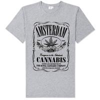 armsterdan 420 cannabis rasta reggae good quality tee shirt bob marley high time