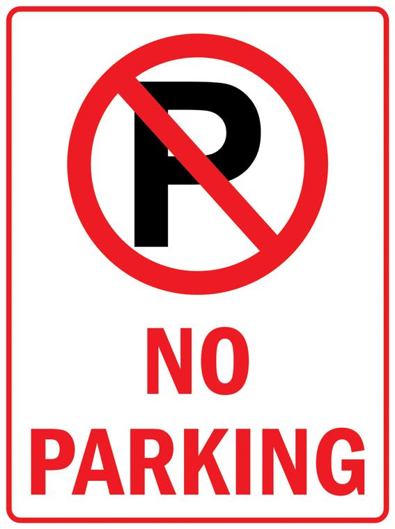 Pas017 нет парковка безопасности трафика улица алюминий знак 9