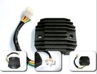 Free shipping Universal Motorcycle Voltage Regulator Rectifier  For kawasaki KLX250 honda xr 250 suzuki big eye 250 TTR 250