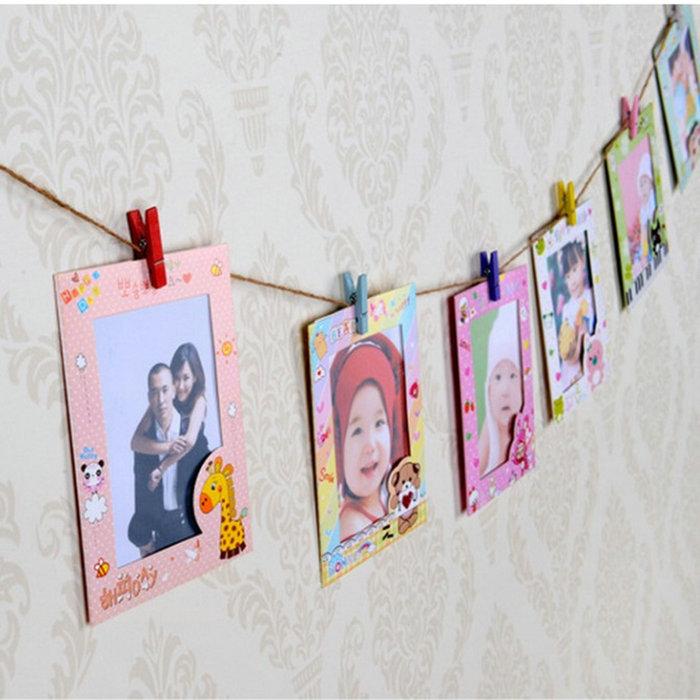 Детские рамки для фото из картона своими руками