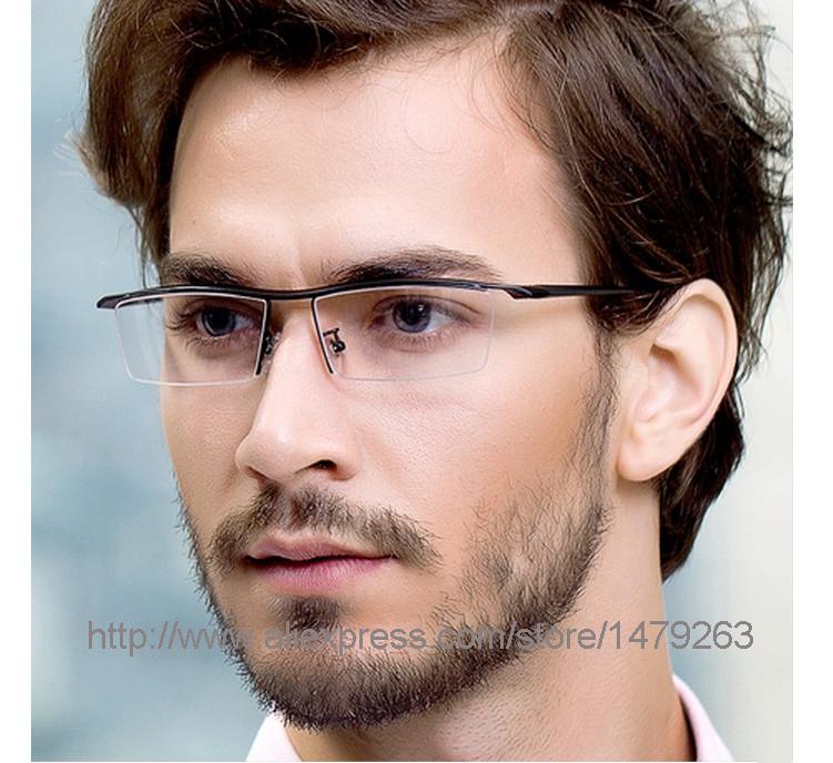 2015 fashion business men and women glasses frame titanium optical frame eyeglasses brand gafas computer glasses oculos de grau(China (Mainland))
