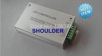 Free shipping HOT 44key LED strip Remote Controler DC12-24V 24A Aluminum shell RF rgb led controller