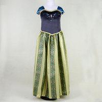 Coco baby ! One Pcs! Frozen elsa dress,baby girls kids party dress, girl anna elsa clothes ,Beautiful children's cartoon dress