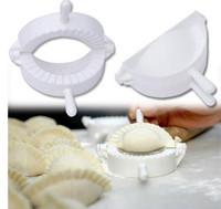 3pcs/lot Home plastic Dough Press Dumpling Pie Ravioli Making Mold Mould Maker Tool