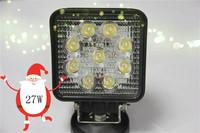 4 inch 27W work light 10pcs free shipping