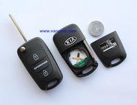 Kia Sportage car 3 button folding remote key 434mhz with ID46 transponder