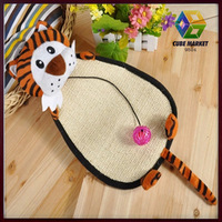 CUBE MARKET PET SHOP Door Hanging Tiger Style Scratch Board toy For Cats, Pet Products Toy