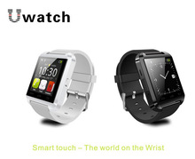 Sport Bluetooth Smart Wristwatch U8 UWatch Fit for Smartphones IOS iphone 4/4S/5/5C/5S Android Samsung S2/S3/S4/Note 2/3 HTC