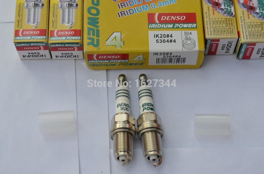 4Piece Denso Iridium Power Spark Plugs IK20 5304(China (Mainland))