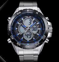 Luxury Brand Unique Design Men Sports Watch Back Light Men Multi-functional Analog Digital Wristwatch Japan Quartz 3ATM