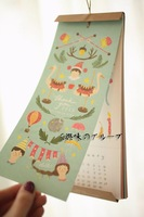 2015 Calendar Postcards Office Stationery--Christmas Gift Novelty Toy
