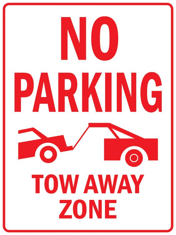 Pas028 нет парковка эвакуатор от часовой пояс обратите внимание предупреждение безопасности дорожного трафика алюминий знак 9