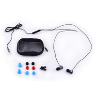AWEI TS-150vi In Ear Headset 3.5mm Jack for  for Samsung Mobile Phone w/ Microphone Multi-color