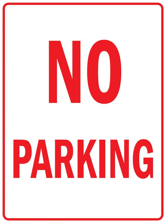 Pas004 нет парковка безопасности трафика металл алюминий знак 9