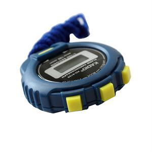 Popular Chronograph Digital Timer Stopwatch Lowest Price Outdoor Sport Counter Odometer Watch(China (Mainland))