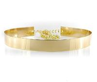 3cm popular  metal plate women  waist belt waist golden circle mirror cummerbunds