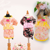 Pet Clothes, Dog Japanese Style Kimono Dress,Pet Products,Free Shipping