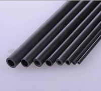 2015 promotionFreeshipping diy airplane model parts carbon fiber tube pipe round tube model stiffener--2x200mm inner diameter:1m