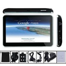 5″ TRUCK GPS Navigator 800MHZ FM/4GB/DDR3 128MB UK EU AU NZ Maps TRUCK Maps Speedcam POI with Sunshade FDA1109B#M1