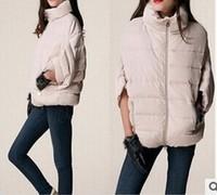 Winter new women fashion batwing sleeve thicken down coat winter jacket women casual plus size down jacket warm outwear T4D919