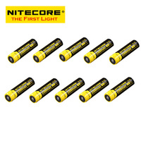 FREE SHIPPING  ORIGINAL 10 pcs nitecore NL183 18650 Li-ion Rechargeable Battery 2300mAh 3.7V 8.5Wh