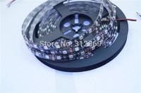 [Seven Neon]Free DHL express black FPBC board 50meters IP65 waterproof 5050 60leds/meter blue light LED SMD strip