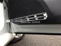 For VW Golf 7 MK7 2014+ ABS Chrome Interior Door Speaker Around Cover Trim